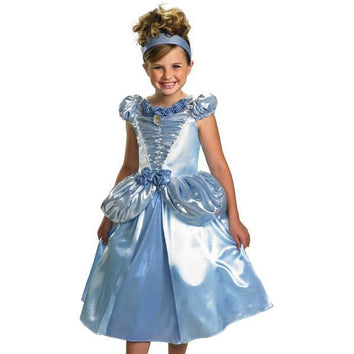 Princess Cinderella Costume for Girls - Make It Up Costumes