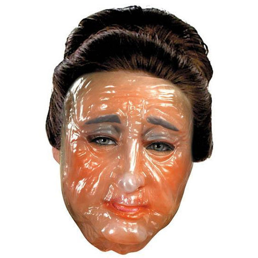 Clear Transparent Old Woman Mask - Make It Up Costumes