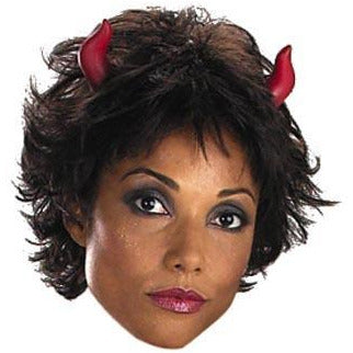 Small Red Devil Horns - Make It Up Costumes