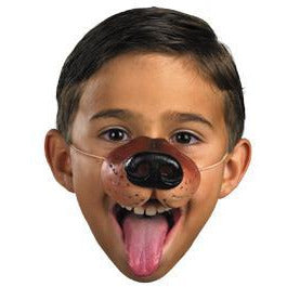 Brown Costume Dog Nose - Make It Up Costumes