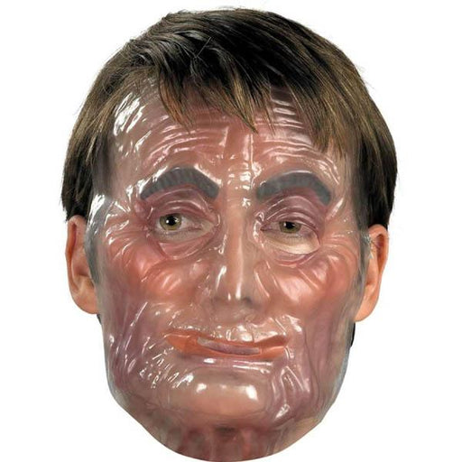 Clear Transparent Old Man Mask - Make It Up Costumes