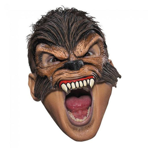 Wolfman Vinyl Chinless Mask - Make It Up Costumes
