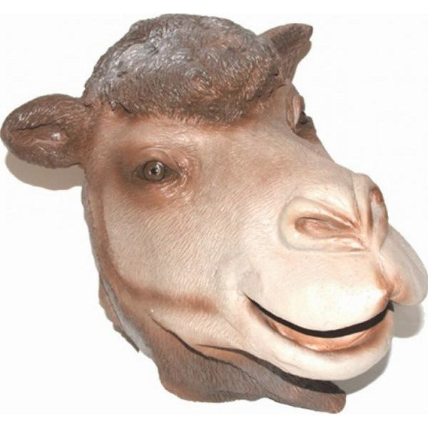 Latex Camel Mask - Make It Up Costumes