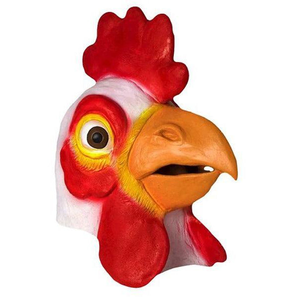 Latex Chicken Head Mask - Make It Up Costumes