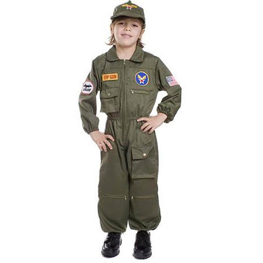 Kid's Air Force Pilot Costume - Make It Up Costumes