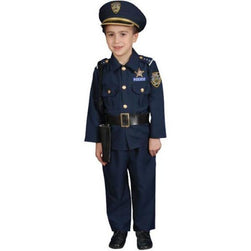 Child Police Officer Costume - Make It Up Costumes