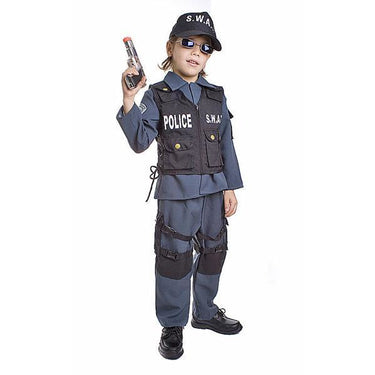 Police SWAT Costume for Kids - Make It Up Costumes