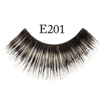 Long, Thick Black Lashes - #201 - Make It Up Costumes