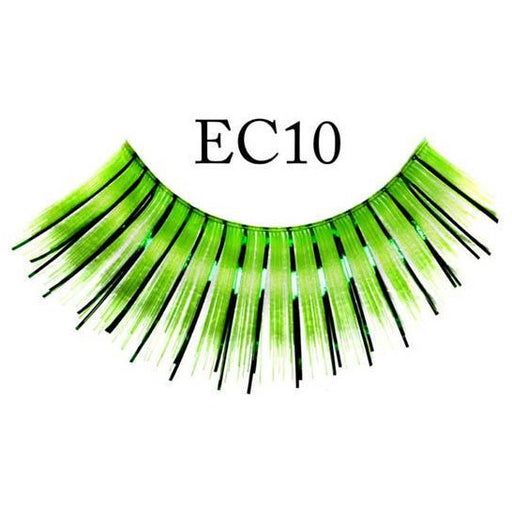 Green Lashes with Tinsel - Make It Up Costumes
