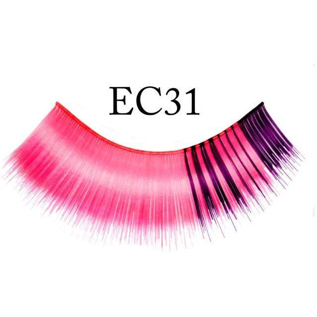 Purple and Pink Lashes - Make It Up Costumes