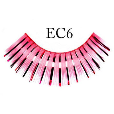 Pink Sparkle Lashes - Make It Up Costumes