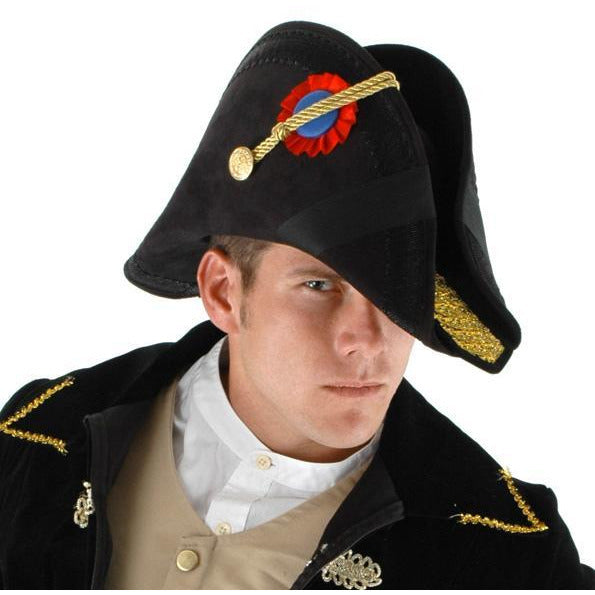 Admiral Bicorn Hat - Make It Up Costumes