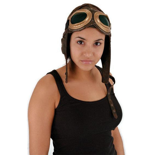 Aviator Helmet Cap - Make It Up Costumes