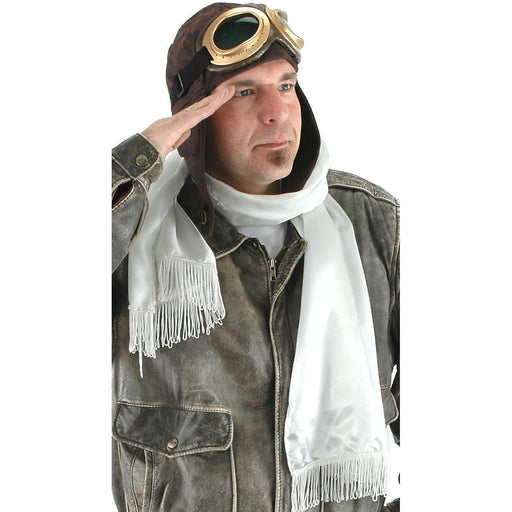 Aviator Costume Kit with Scarf, Helmet and Goggles - Make It Up Costumes