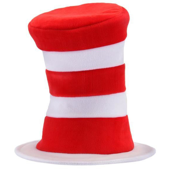 Deluxe Cat in the Hat Top Hat - Make It Up Costumes