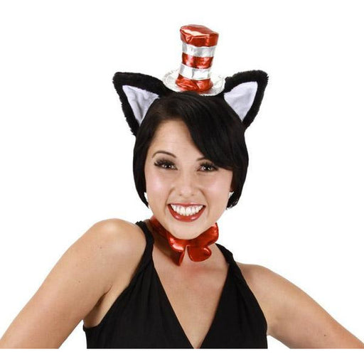Cat in the Hat Headband with Ears - Make It Up Costumes