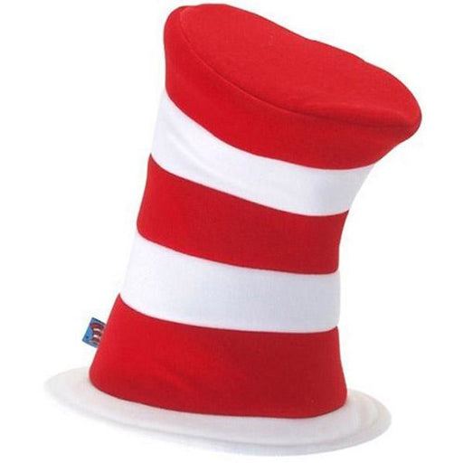 Economy Cat in the Hat Striped Top Hat - Make It Up Costumes