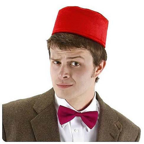 Doctor Who Fez and Bow Tie Set - Make It Up Costumes