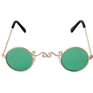 Green Lens St. Patrick's Day Sunglasses - Make It Up Costumes