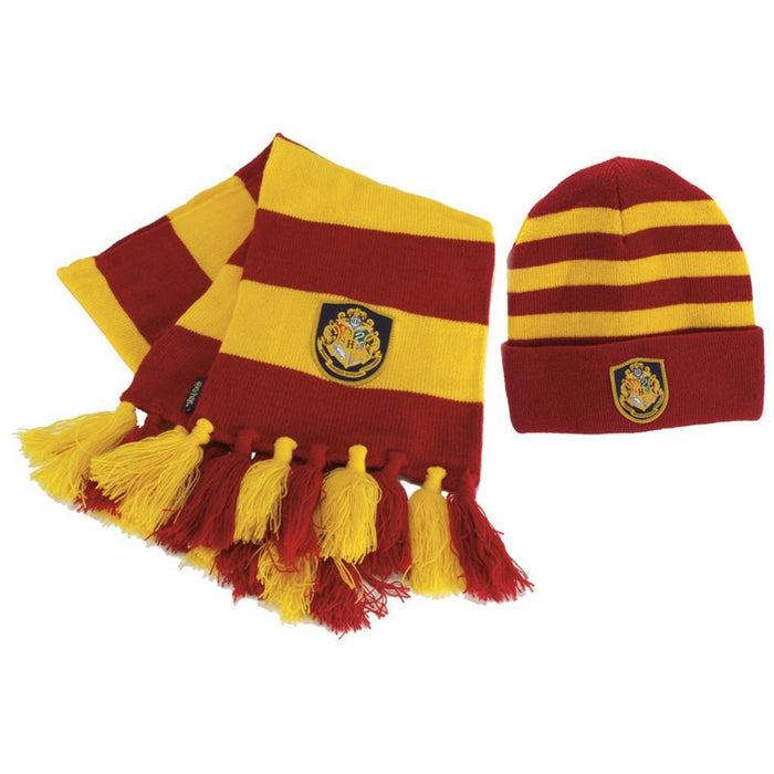 Harry Potter Hogwarts Scarf and Hat - Make It Up Costumes
