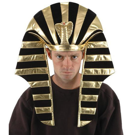 King Tut Headdress Hat - Make It Up Costumes
