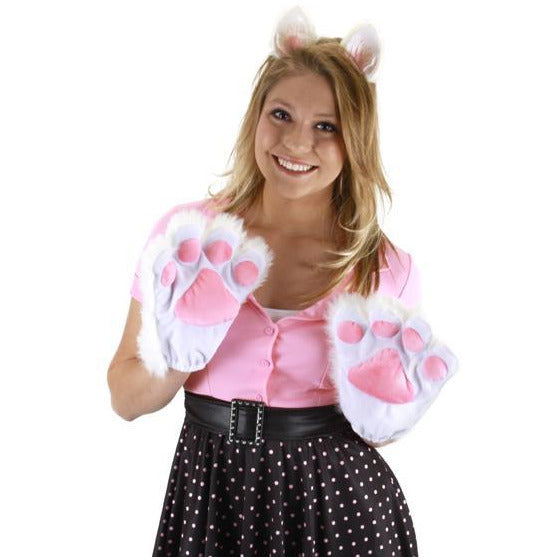 Kitty/Cat Paw Gloves - Make It Up Costumes