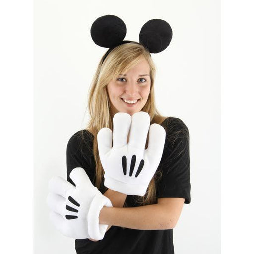 Mickey Mouse Ears Headband & Gloves - Make It Up Costumes