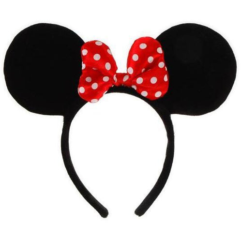 Minnie Mouse Ears Headband - Make It Up Costumes