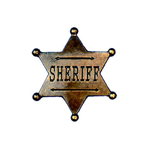 Sheriff Star Badge - Make It Up Costumes