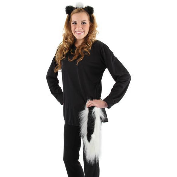 Skunk Costume Ears and Tail Set - Make It Up Costumes