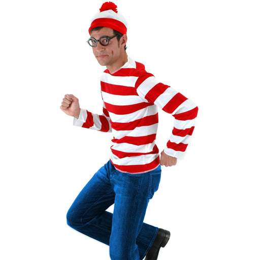 Adult Where's Waldo Costume Kit - Make It Up Costumes