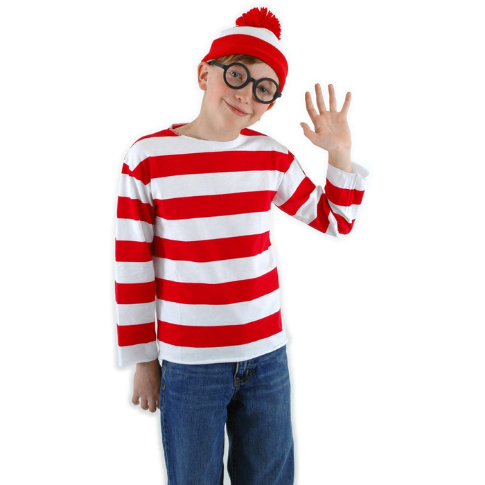 Kid's Where's Waldo Costume Kit - Make It Up Costumes