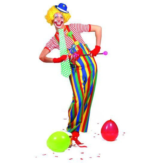 Adult Clown Overalls - Make It Up Costumes