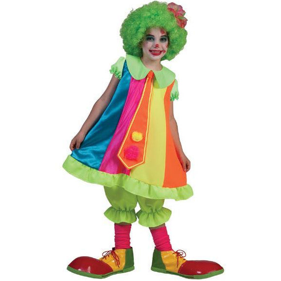 Girl's Silly Billy Clown Costume - Make It Up Costumes