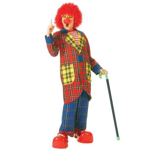 Plaid Pickles Child Clown Costume for Boys - Make It Up Costumes