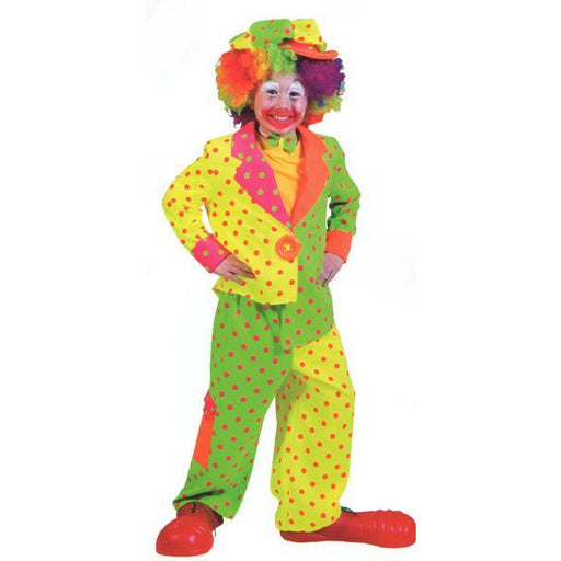 Pokey Dot Child Clown Costume for Boys - Make It Up Costumes