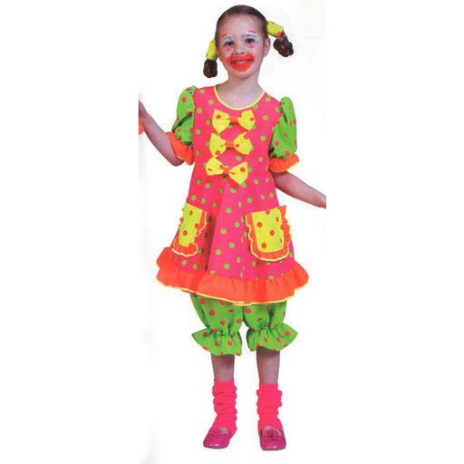 Pokey Dot Child Clown Costume for Girls - Make It Up Costumes