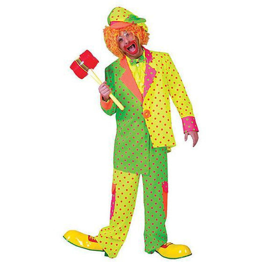 Pokey Dot Clown Costume for Men - Make It Up Costumes