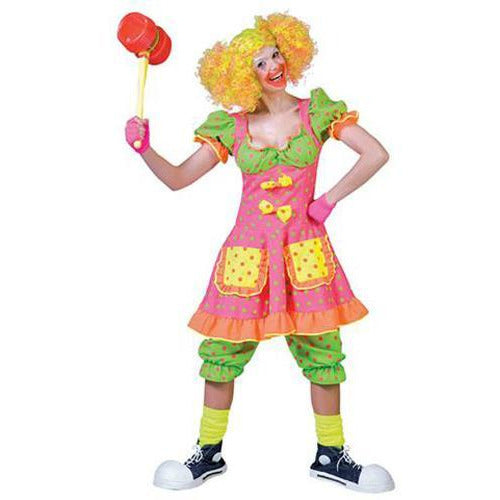 Pokey Dot Clown Costume for Women - Make It Up Costumes