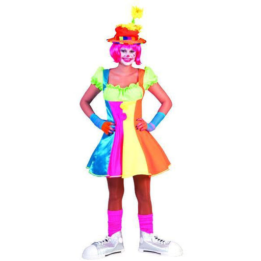 Adult Silly Billy Clown Dress - Make It Up Costumes