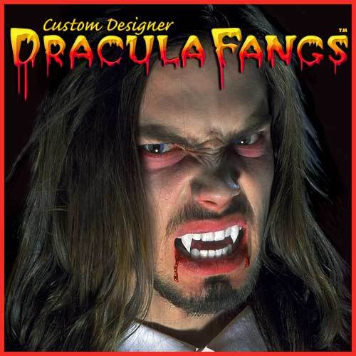 Foothills Custom Fake Vampire Fangs - Dracula - Make It Up Costumes