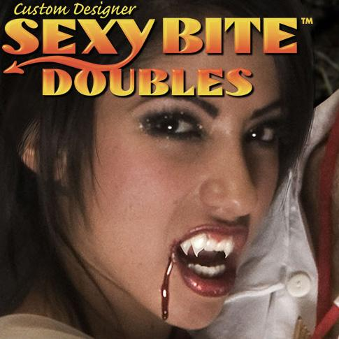 Foothills Custom Fake Vampire Fangs - Sexy Bite Doubles - Make It Up Costumes