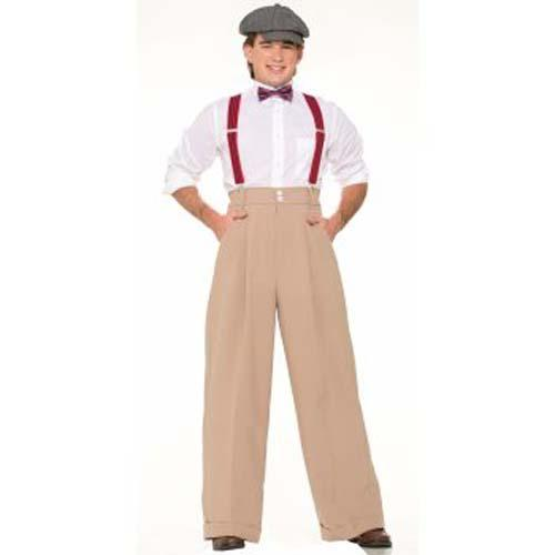 Deluxe 1920's Men's Pants - Make It Up Costumes