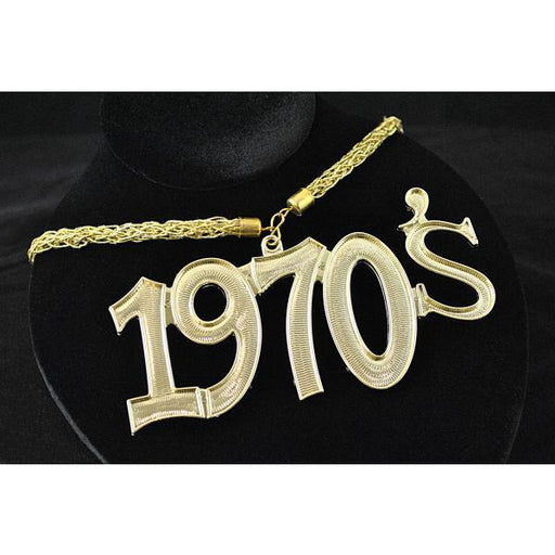 1970's Disco Fever Necklace - Make It Up Costumes