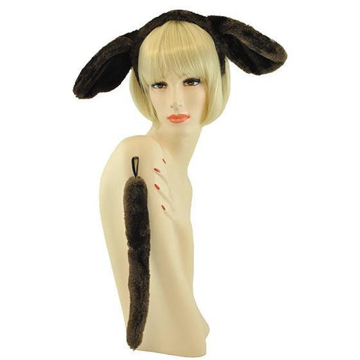 Brown Dog Costume Kit with Ears and Tail - Make It Up Costumes