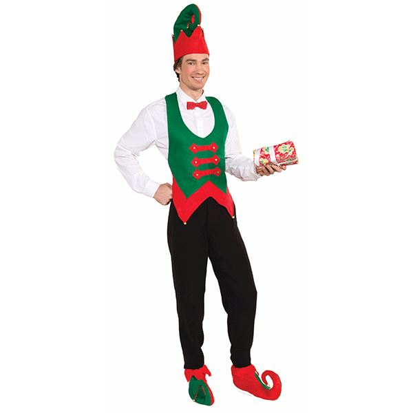 Elf Hat and Shoe Cover Set - Make It Up Costumes