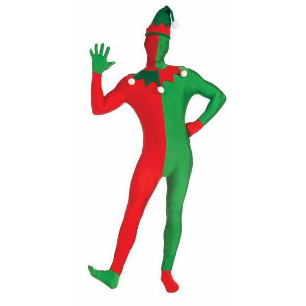 Elf Spandex Bodysuit Costume - Make It Up Costumes