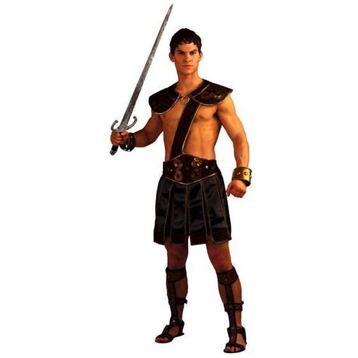 Men's Roman Gladiator Costume - Make It Up Costumes