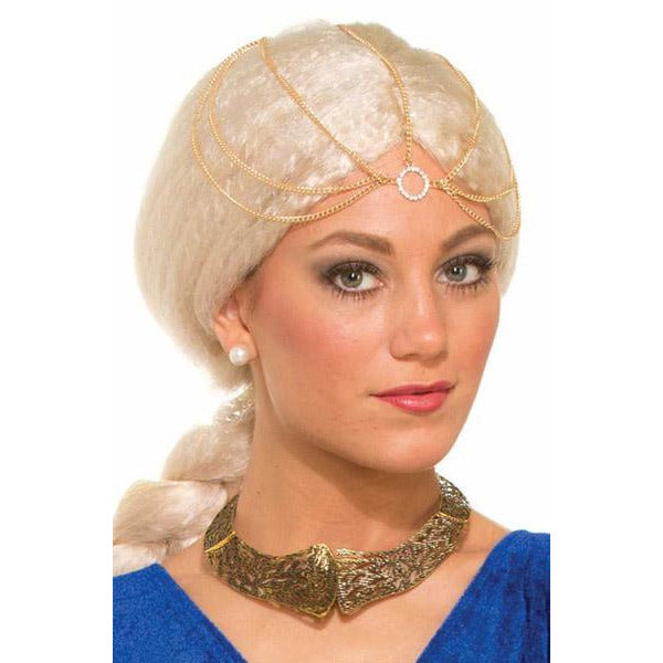Medieval Golden Chain Headpiece - Make It Up Costumes