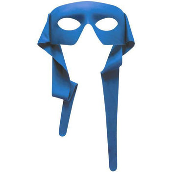 Large Half Mask with Ties - Make It Up Costumes